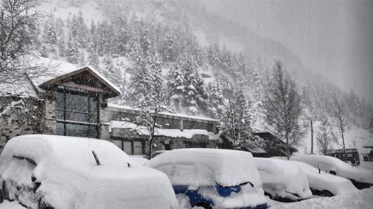 El tiempo temporal de nieve y viento ya est aqu el - Estacion meteorologica carrefour ...