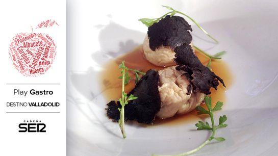 Castaña de foie con trufa negra