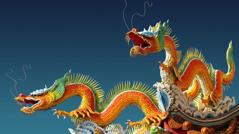 El dragón es el único animal mitológico del zodiaco, se asocia con la salud, la fuerza, la armonía y la buena suerte