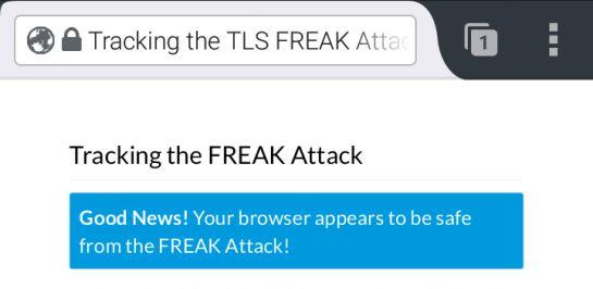 Firefox no falla en ninguno de los sistemas