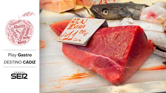 El atún es uno de los productos más emblemáticos de la gastronomía gaditana.
