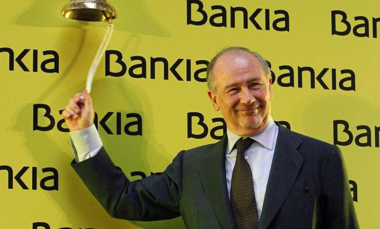 Rodrigo Rato celebra la salida a bolsa de Bakia en 2012