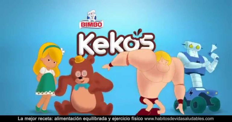 Imagen de la campaña publicitaria del dulce por el que Bimbo ha sido multado.