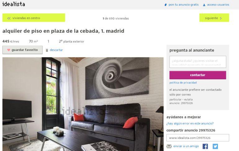 pisos alquiler web