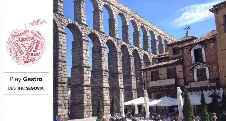 El Mesón Cándido es, junto al acueducto, uno de los lugares más visitados de Segovia.