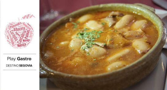 Las legumbres segovianas, con los garbanzos y los judiones a la cabeza, son uno de los emblemas de la gastronomía regional.
