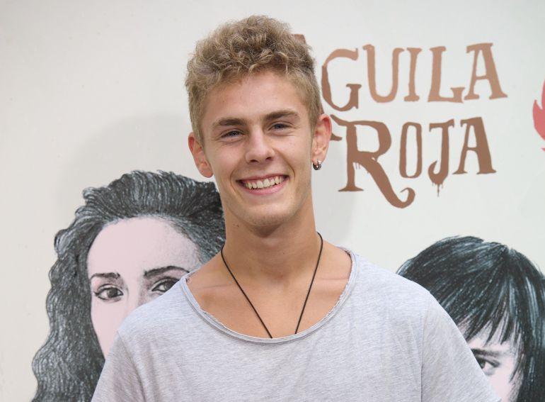 Patrick Criado (19 años) durante la presentación de 'Águila Roja'