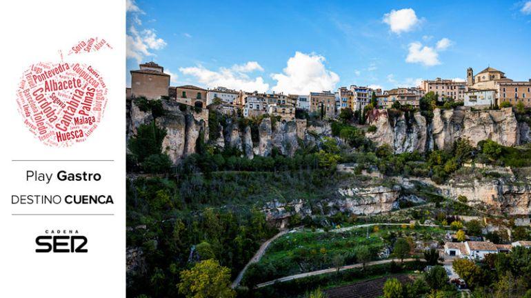 ¿Te has fijado en el huerto que hay justo enfrente de las Casas Colgadas de Cuenca?
