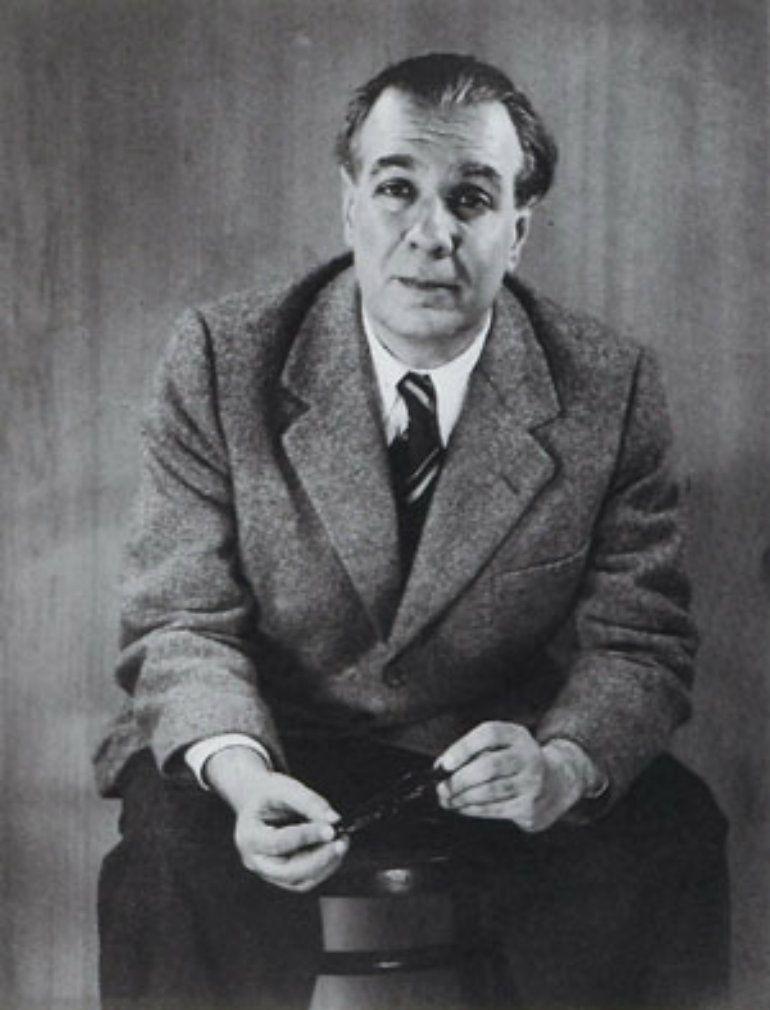 Imagen de Jorge Luis Borges tomada por Grete Stern. Dominio público.