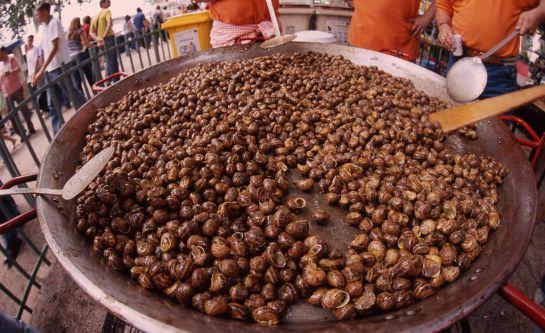 El 'aplec del cargol', que se celebra en mayo, es una de las fiestas gastronómicas más interesantes de la provincia.