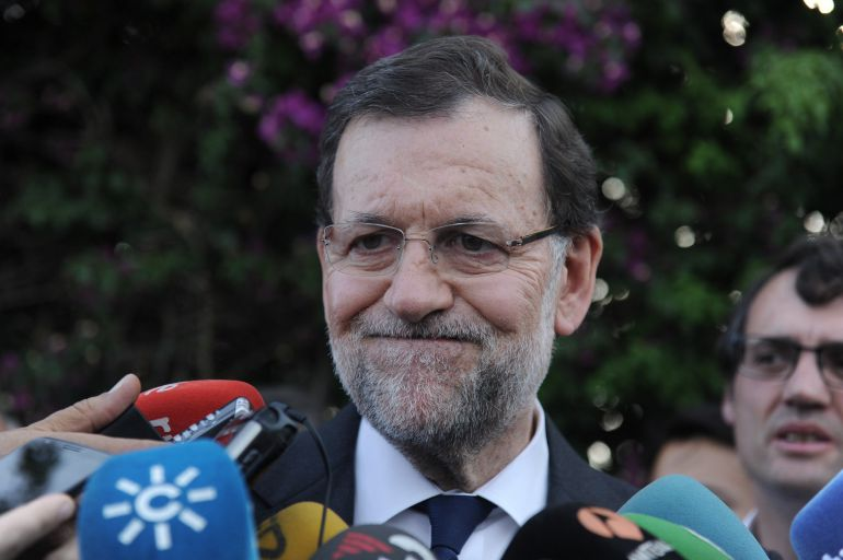 Mariano Rajoy, este pasado fin de semana en Sevilla.