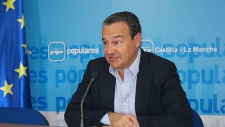 El portavoz adjunto del PP en el Congreso, Agustín Conde