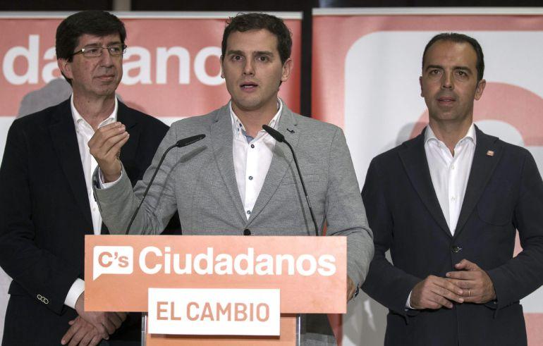 Ciudadanos baraja la abstención en Andalucía después del 24 de mayo