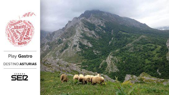 Los Picos de Europa, desde Sotres de Cabrales.