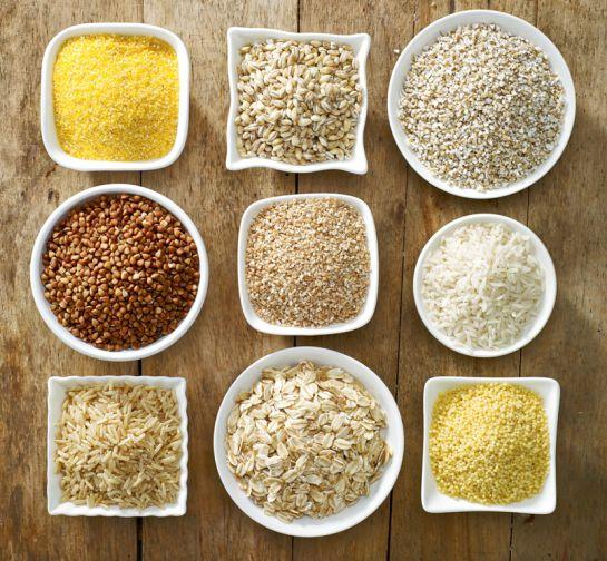 Los cereales son una de las bases de la dieta macrobiótica.