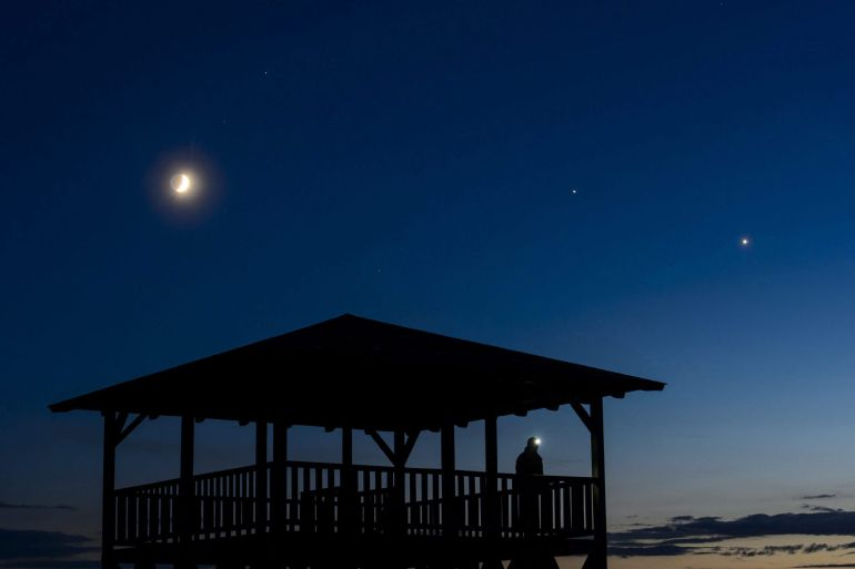 La conjunci n planetaria de venus y j piter esta noche for En 1761 se descubrio la de venus