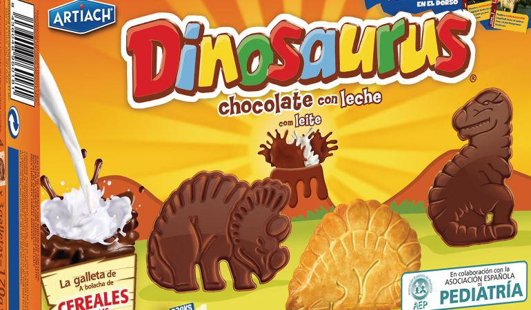Los nutricionistas cargan contra las galletas Dinosaurus