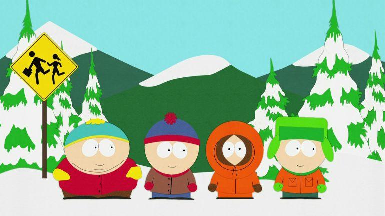 Los cuatro protagonistas de 'South Park'