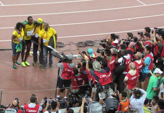 Usain Bolt derrota a Justin Gatlin en el Nido del Pájaro