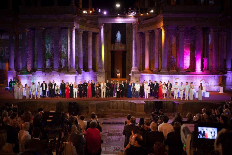 Gala de los premios Ceres en 2012