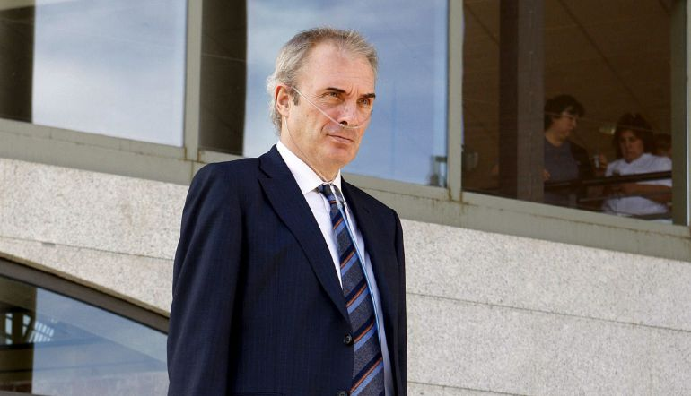 El profesor universitario Jesús Neira, que en 2008 recibió una paliza por recriminar a un hombre, Antonio Puerta, que estuviera maltratando a una mujer.