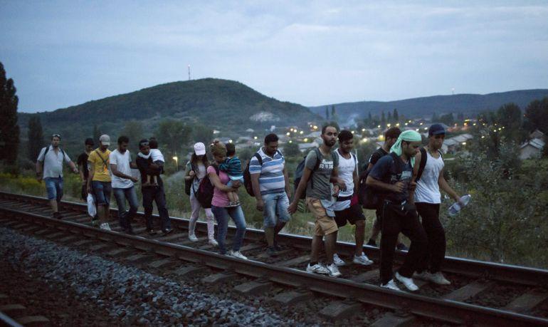 Refugiados - Magazine cover