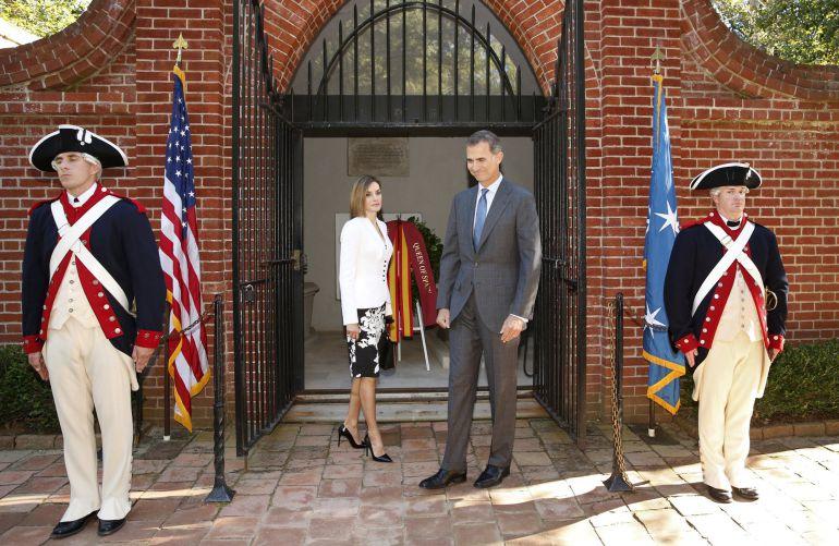 Obama recibe a los reyes en la casa blanca espa a - Casa de los reyes de espana ...