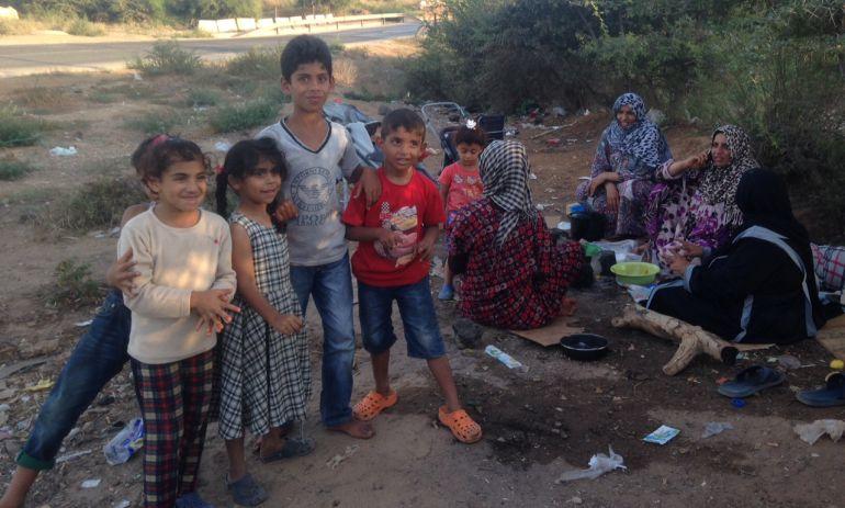 Un tercio de los 1.700 internos del CETI son niños, casi todos sirios y también palestinos