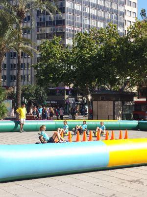 Actividades para niños en Valencia durante la jornada.