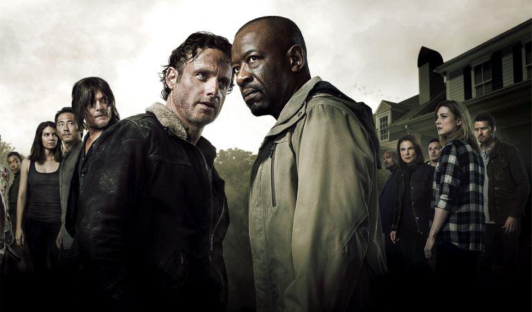 Póster oficial de la temporada 6 de 'The Walking dead'