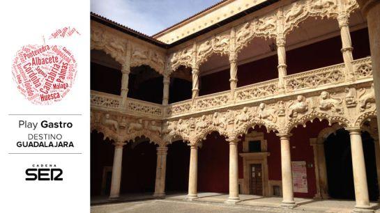 Patio de los Leones del Palacio del Infantado (Guadalajara).