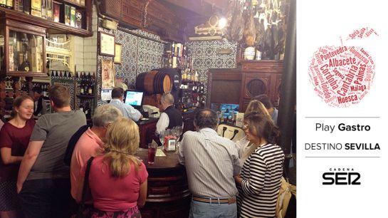 El Rinconcillo, fundado en 1670, es el bar más antiguo de Sevilla.