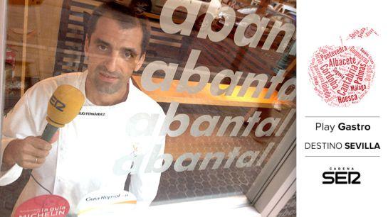 Julio Fernández, chef del restaurante Abantal.