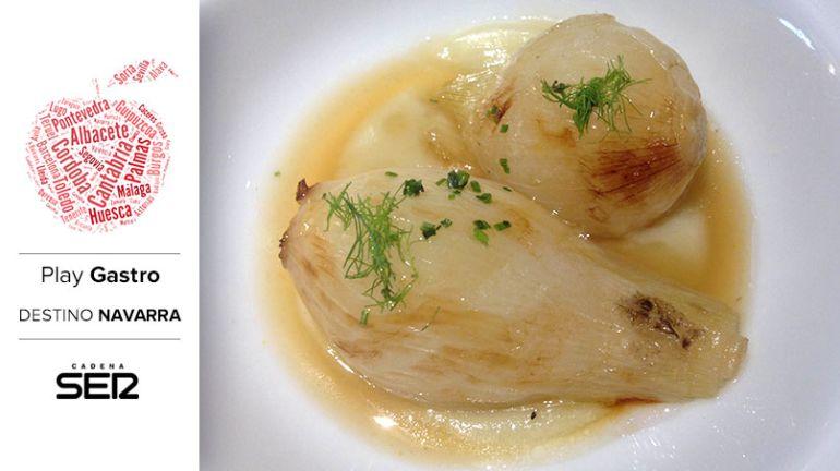 Cebollas estofadas con hinojo (Topero, Tudela).
