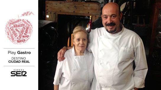 Mª José y Rubén, dos generaciones en El Bodegón de Daimiel.