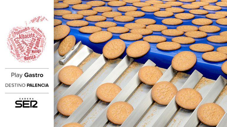 La fábrica de galletas Gullón, en Agular de Campoo, es una de las más grandes de Europa.