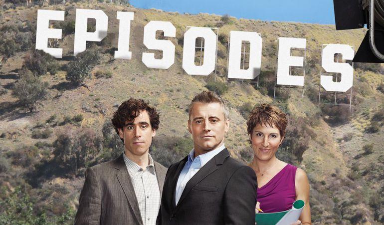 'Episodes', una de las mejores series para aprender inglés por la mezcla de acentos británico y americano.