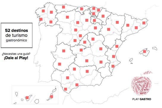 Mapa de Play Gastro.