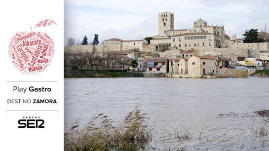 Zamora, bañada por el río Duero.