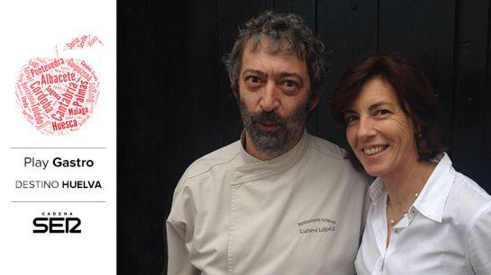 Luismi López y Adela Ortiz (Restaurante Arrieros).