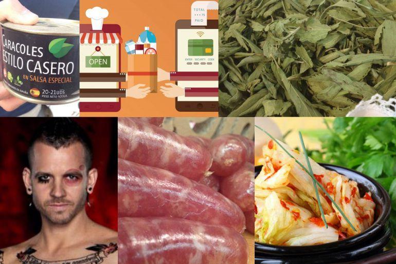 Caracoles, compras 'on-line', stevia, Dabiz Muñoz, butifarra dulce, comida coreana...
