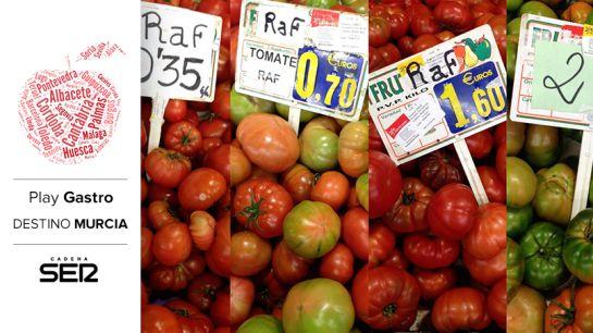 Tomates, en el Mercado Verónicas de Murcia.