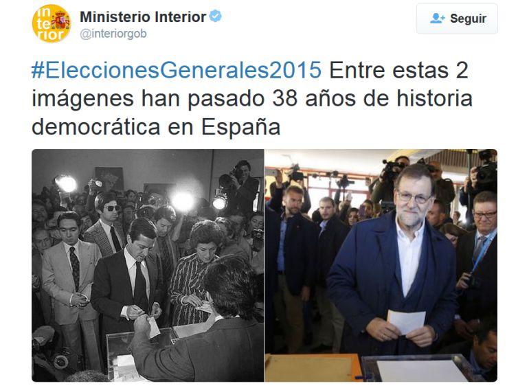 Resultados elecciones 2015 el ministerio de interior for Elecciones ministerio del interior resultados