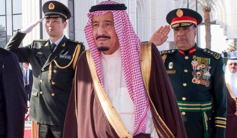El rey saudí, Salmán bin Abdulaziz.