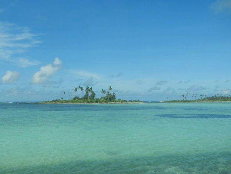 Kiribati, uno de los paraísos que recomienda Gunnar.