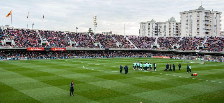 El Mini Estadi, feudo del Barça B