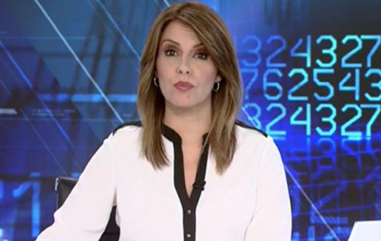 Pilar García Muñiz, presentadora del Telediario