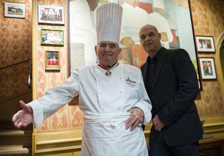 el chef franc s paul bocuse padre de la 39 nouvelle cuisine