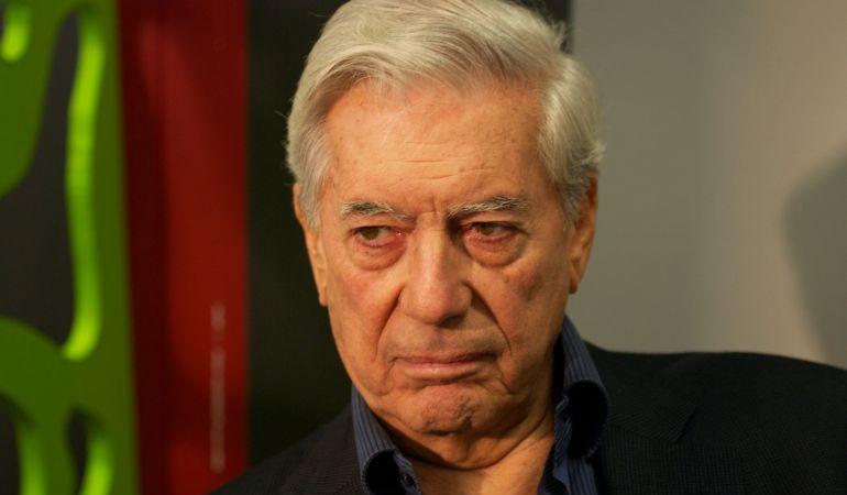 El escritor de Mario Vargas Llosa, en una imagen de archivo.