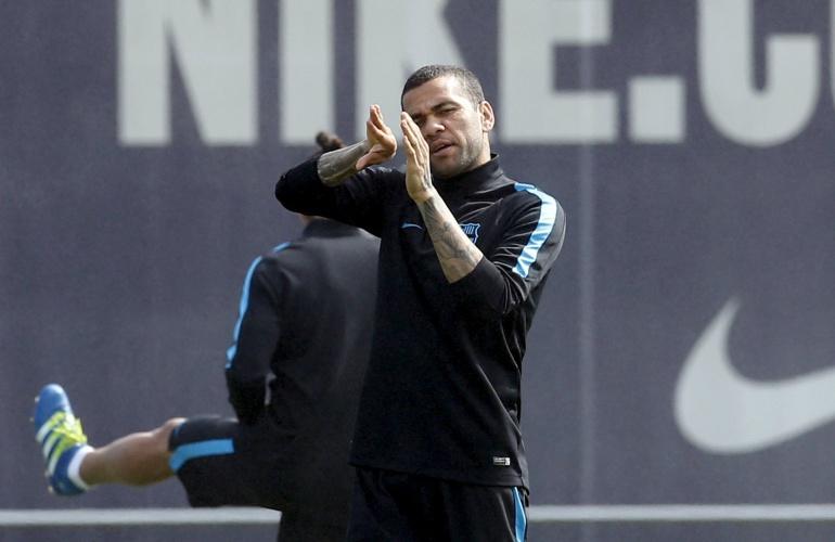 Vídeo Dani Alves  El Barça no descartar sancionar a Alves  d797e8b5059